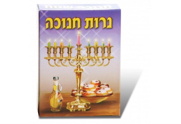 מארז 12 חבילות נרות חנוכה