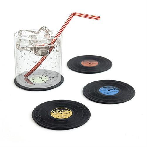 תחתיות לכוסות תקליטים