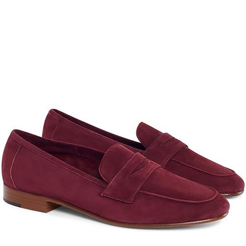 CLASSIC LOAFER SUEDE PLUM