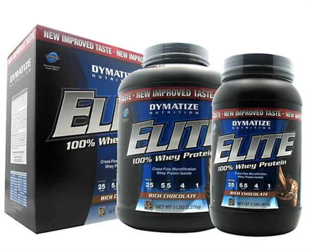 "Elite whey by DymaTize אבקת חלבון 4.5 ק""ג"