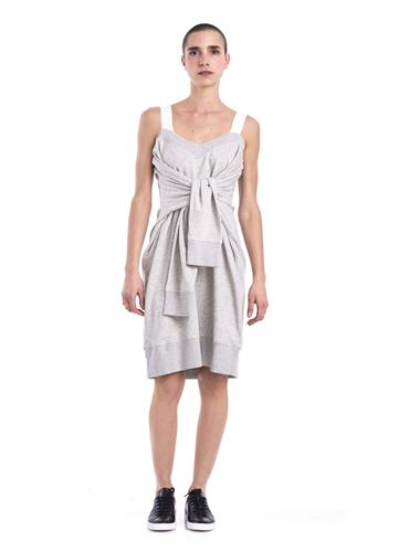 GREY MM6 DRESS SWEATSHIRT