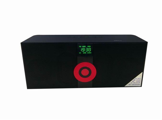 רמקול BT BOX MS-288 עם רדיו FM דיבורית ו MP3 וחיבור NFC