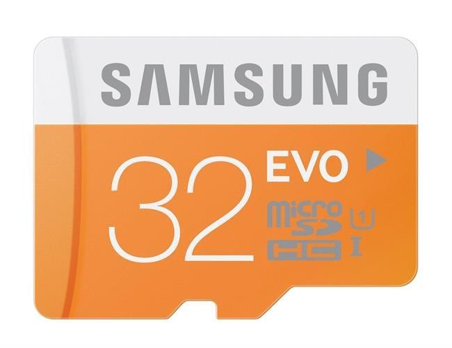 כרטיס זיכרון  micro SD CLASS 10 SDHC 32GB SAMSUNG EVO ומתנה
