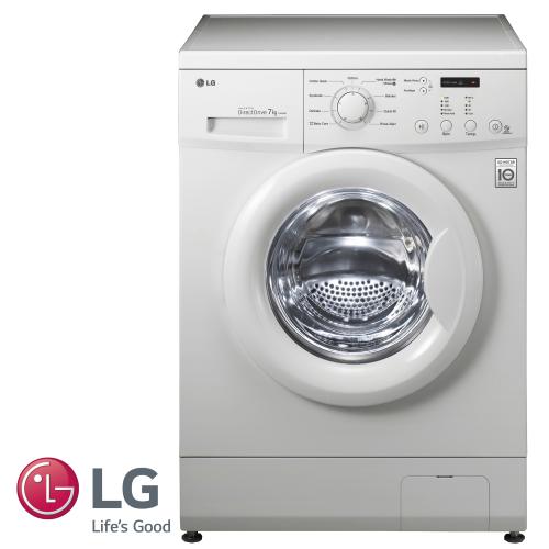 "LG מכונת כביסה 7 ק""ג דגם: F8060QDP מתצוגה"