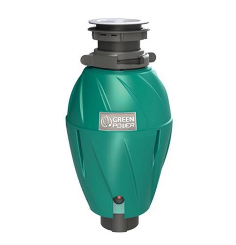 טוחן אשפה ELLECI תוצרת איטליה 1HP - כולל מפסק פנאומטי - הגנה אנטיבקטריאלית למניעת ריחות