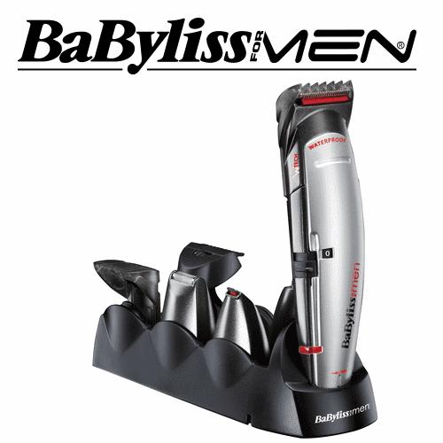 Babyliss מעצב זקן רב תכליתי 8 ב-1 דגם: E-835