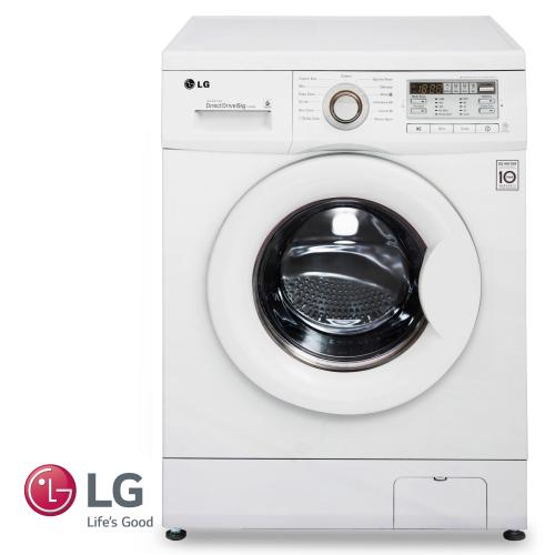 """LG מכונת כביסה 6 ק""""ג דגם: F1008XM מתצוגה"""