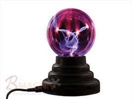 כדור פלזמה 4 אינץ מחפשים מתנה עם הרבה זרם? כדור הפלסמה משולב בסיס איכותי ביותר המייצר גלים אלקטרומגנטיים בתדר גבוה הגורמים לגזים שבתוך הכדור להפוך לפלזמה. אם אתה נוגע בכדור, יופיעו ברקים אשר ישתלבו לתוך קרן חזקה ויעקבו אחר התנועה של האצבע שלך.