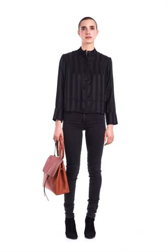 KENDAL SILK TOP BLACK
