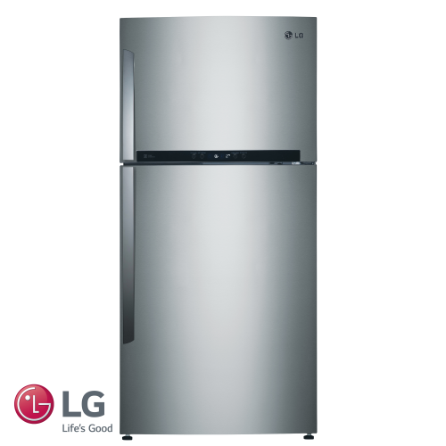 LG מקרר מקפיא עליון 515 ליטר דגם: GR-M6780S נירוסטה מוברשת מתצוגה